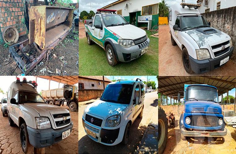 Veículos e máquinas a venda