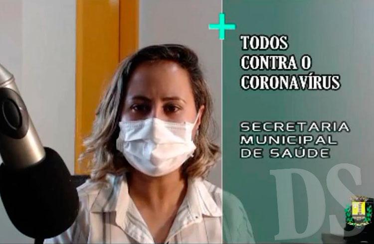 Secretária Municipal de Saúde, Cátia Oda