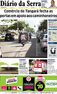 Jornal  Diario da Serra (TANGARA DA SERRA MT)